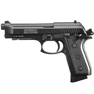 Pistola Airgun (Taurus PT92) SA P92 Co2 4,5mm - Full Metal