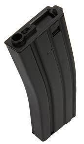 Magazine Airsoft em Metal Hi-Cap para Rifle Aeg M4 / M16 - 350 bbs