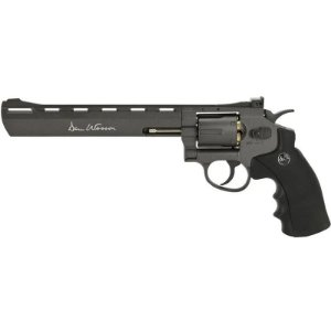 "Revólver Airgun Dan Wesson Grey  8"" Co2 4,5mm - Full Metal"