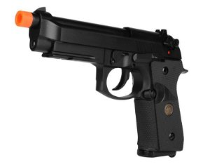 Pistola Airsoft M9A1 Black WE GBB 6mm - Full Metal