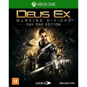 Jogo Deus Ex: Mankind Divided - Day One Edition - Xbox One