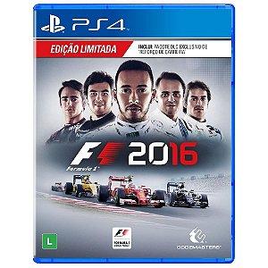 Jogo F1 2016 - Edição Limitada - PS4
