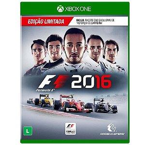 Jogo F1 2016 - Edição Limitada - Xbox One