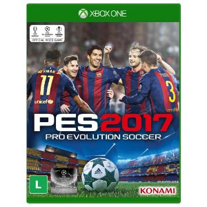 Jogo Pro Evolution Soccer PES 2017 - Xbox One