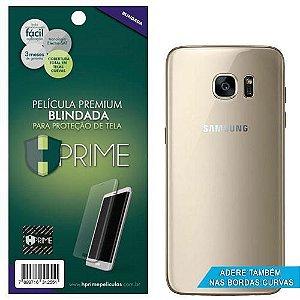 Pelicula Traseira HPrime Samsung Galaxy S7 Edge - VERSO - Curves