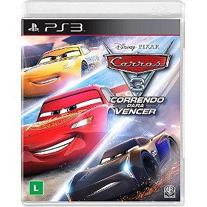 Jogo Carros 3 - Correndo para Vencer - PS3