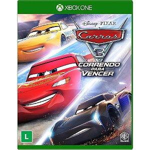 Jogo Carros 3 - Correndo para Vencer - Xbox One