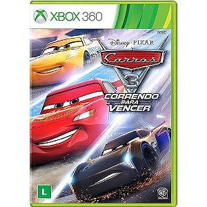 Jogo Carros 3 - Correndo para Vencer - Xbox 360