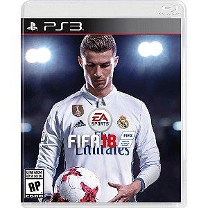 Jogo FIFA 18 PS3 - (FIFA 2018)