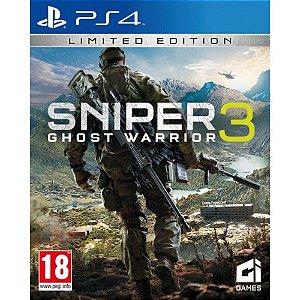 Jogo Sniper Ghost Warrior 3 Ps4
