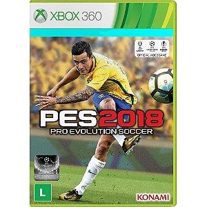 Jogo PES 18 Pro Evolution Soccer 2018 Xbox 360