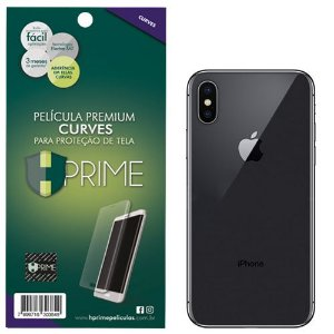 Pelicula Traseira HPrime Apple iPhone X - VERSO - Curves