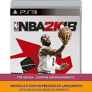 Jogo NBA 2K18 PS3