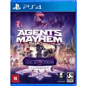 Jogo Agents Of Mayhem PS4