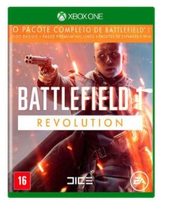 Jogo Battlefield 1 Revolution Xbox One em Português