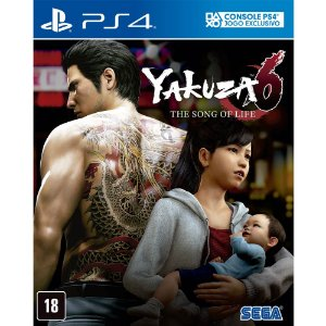 Jogo Yakuza 6: The Song Of Life – PS4