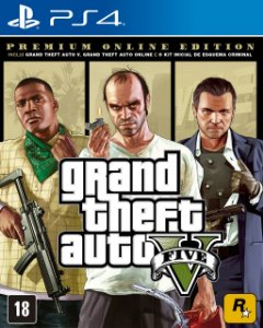 Jogo GTA V (Premium Online Edition) - PS4