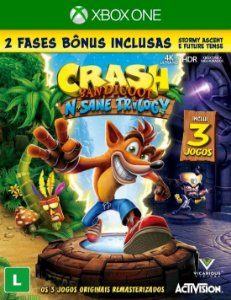Jogo Crash Bandicoot N' Sane Trilogy - Xbox One
