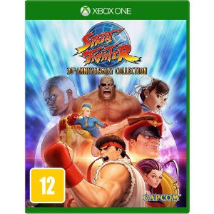Jogo Street Fighter 30th Anniversary Collection Xbox One