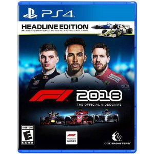 Jogo F1 Formula 1 2018 Head Line Edition - PS4