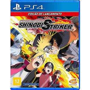 Jogo Naruto to Boruto: Shinobi Striker - PS4 (Edição de Lançamento)