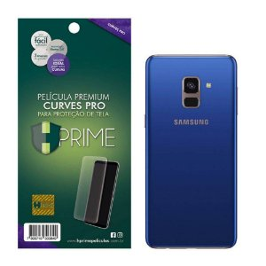 Pelicula HPrime Samsung Galaxy A8 Plus 2018 Traseira - Curves PRO