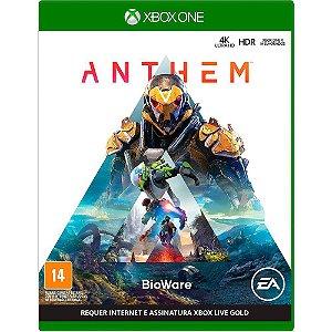 Jogo Anthem - Xbox one Midia Fisica Novo Original Lacrado
