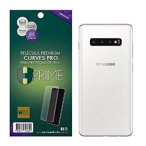 Película Traseira Curves Pro Verso Hprime Samsung Galaxy S10 Sm-g973