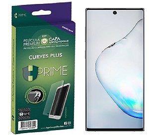 Pelicula HPrime Curves PRO Galaxy Note 10  KIT com Capa TPU