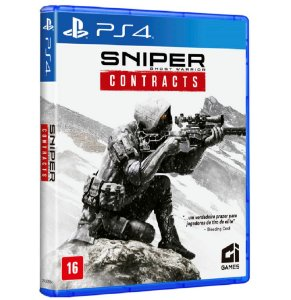 Jogo Sniper Ghost Warrior Contracts - PS4