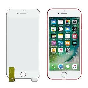 Kit NanoColor | Película Branco + Capa Antichoque Hprime | Apple iPhone 8 Plus