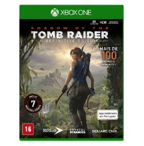 Jogo Shadow of Tomb Raider  Definitive Edition Xbox One