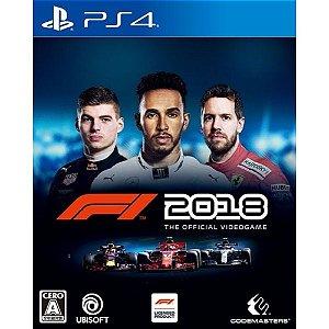 JOGO FORMULA 1 - F1 2018 EDICAO PADRAO - PS4