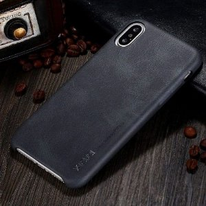 Capa X-Level - Vintage Series - Black - Apple iPhone X / XS