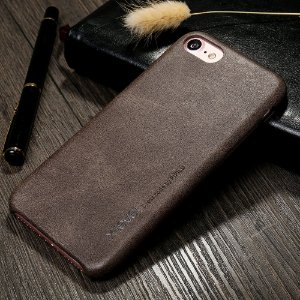 Capa Protetora X-level Vintage Couro Pu Marron Iphone 7
