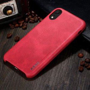 Capa X-Level - Vintage Series - Red - Apple iPhone XR