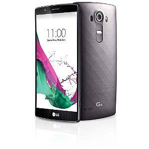 """Smartphone LG G4 Dual Chip H818P Titanium com Tela de 5.5"""", Android 5.0, 4G, Câmera 16MP e Processador Hexa Core de 1.8 GHz"""