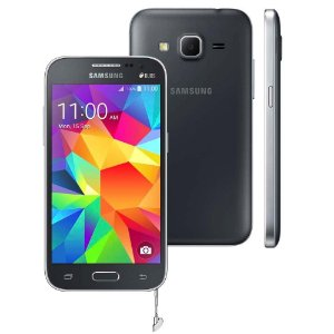 Smartphone Samsung Galaxy Win 2 Duos G360, 4G, TV Digital, Quad Core 1.2 GHz, Câmera de 5MP Cinza