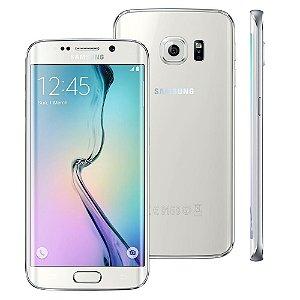 Smartphone Samsung Galaxy S6 Edge SM-G925I Branco 4G Câmera 16 MP Octa Core 32GB