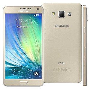 """Smartphone Samsung Galaxy A7 4G Duos SM-A700FD Dourado Dual Chip Tela 5.5"""", 4G"""