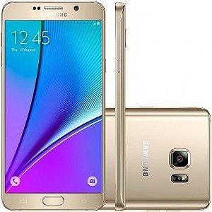"""SMARTPHONE SAMSUNG NOTE 5 SM-N920G DOURADO 4G 32GB TELA 5,7""""  OCTACORE DESBLOQ"""
