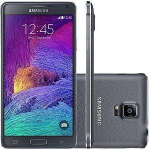 Smartphone Samsung Galaxy Note 4 SM-N910C Preto com Tela de 5.7'', Câmera 16MP, 3G/4G, Android 4.4 e Processador Octa-Co