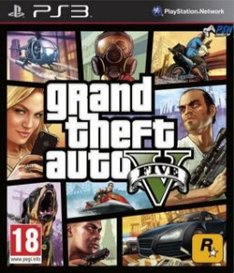 Jogo Grand Theft Auto GTA V - Ps3