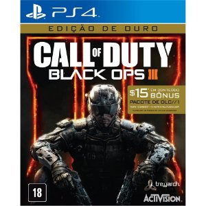 Game Call Of Duty: Black Ops 3 - PS4 - GOLD EDITION