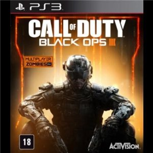 Jogo Call of Duty: Black Ops III - PS3.