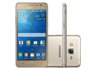 Smartphone Samsung Galaxy Gran Prime Duos Sm-G531b 5 8gb 8mp Tv Quad Core Dourado