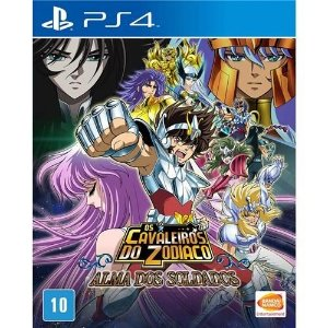 Game Cavaleiros do Zodiaco: Alma dos Soldados - PS4