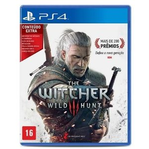 Game The Witcher 3 Wild Hunt (Versão em Português) - PS4