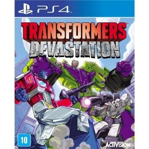 JOGO TRANSFORMERS DEVASTATION - PS4