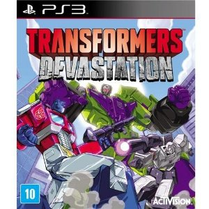 Jogo Transformers Devastation - PS3